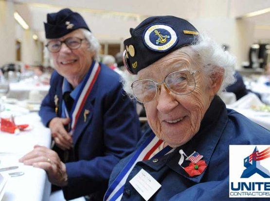 giving back for senior citizens and veterans