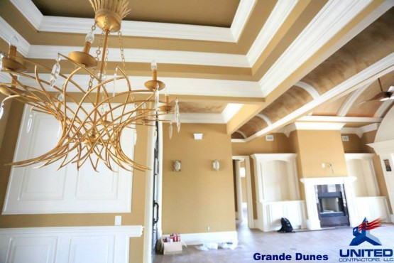 Grande Dunes Interior Work