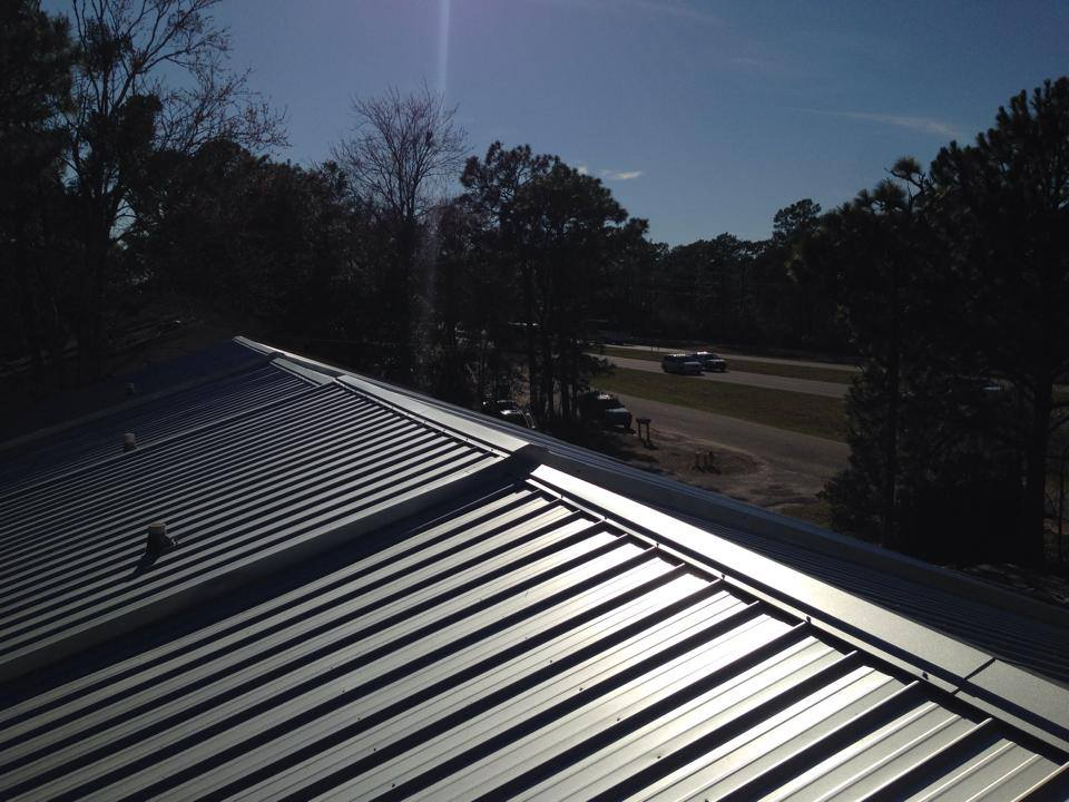 Metal Roof United Contractors Roofing