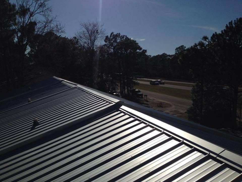 Metal Roof United Contractors Roofing