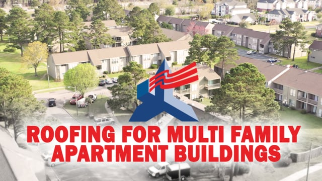 Roofing For Multi Family Apartment Buildings By United
